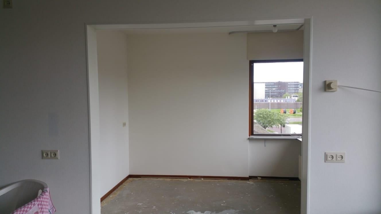 Renovlies behang nieuwbouw for Kostprijs behangen per m2